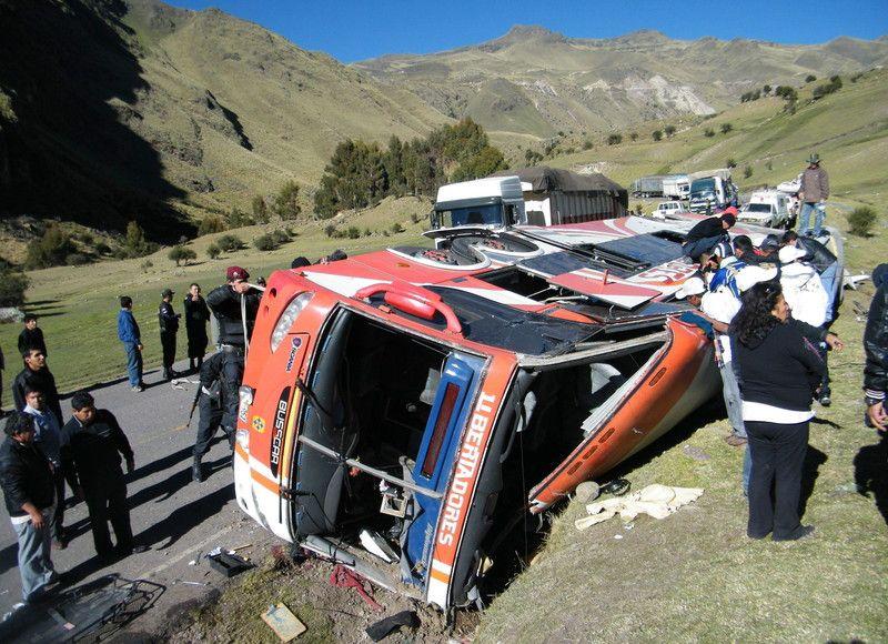 ДТП в Перу: погибли 26 человек