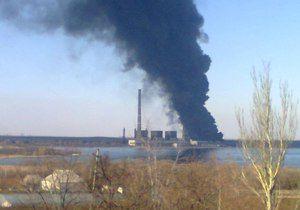 Местные рассказали о взрыве, спасатели - только о пожаре.