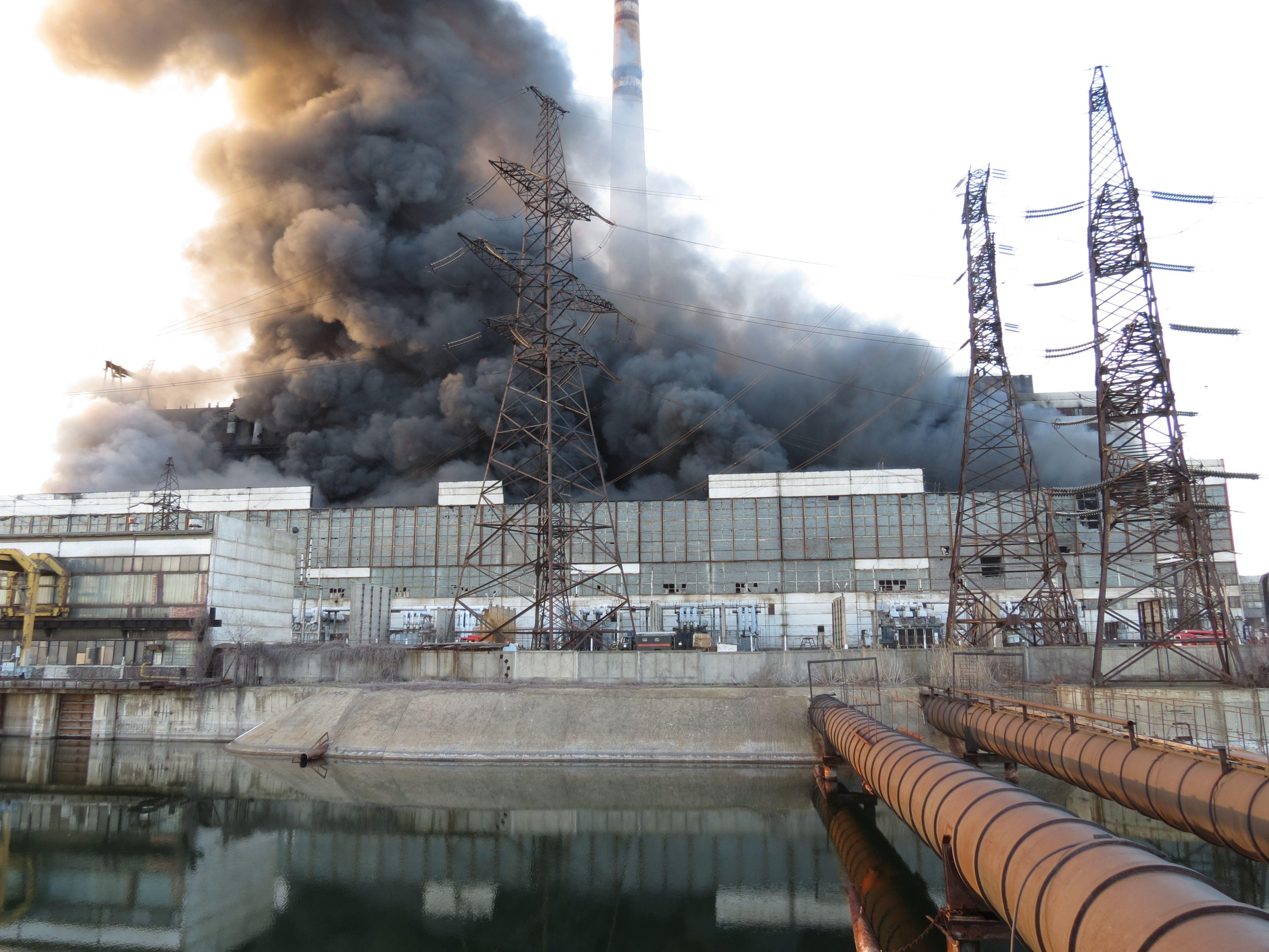 На ТЭС уничтожены 4 энергоблока