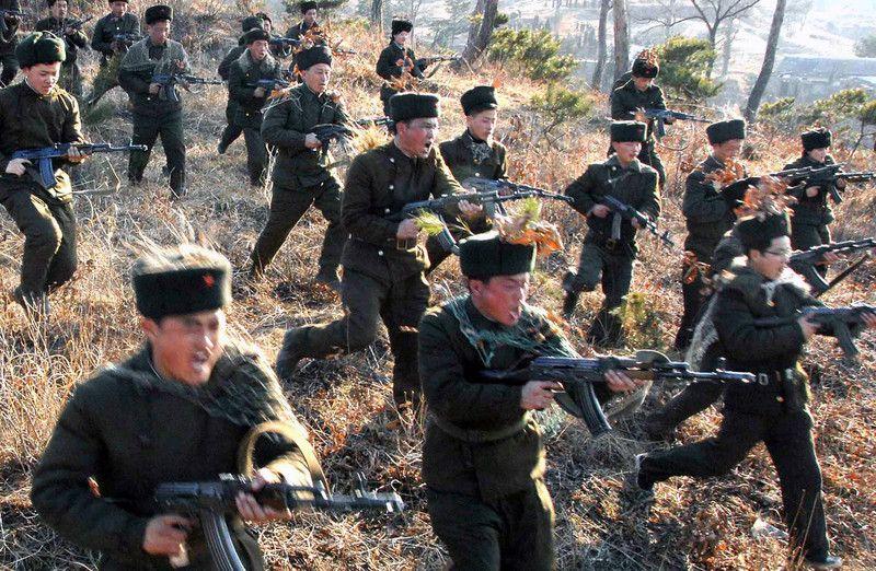 Северяне готовы вторгнуться в Южную Корею
