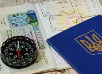 Украина отменила визы европейцам 8 лет назад
