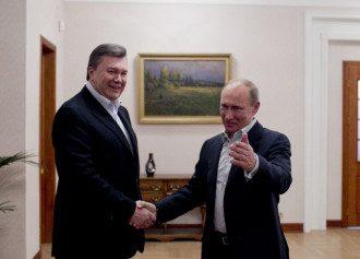 Виктор Янукович и Владимиро Путин