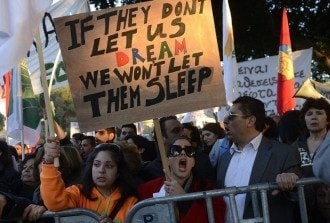 Киприоты выступают против введения налоги на депозиты