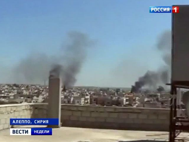 Самолет чуть не сбили над охваченной войной Сирией
