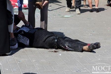 Во время терактов пострадал 31 человек