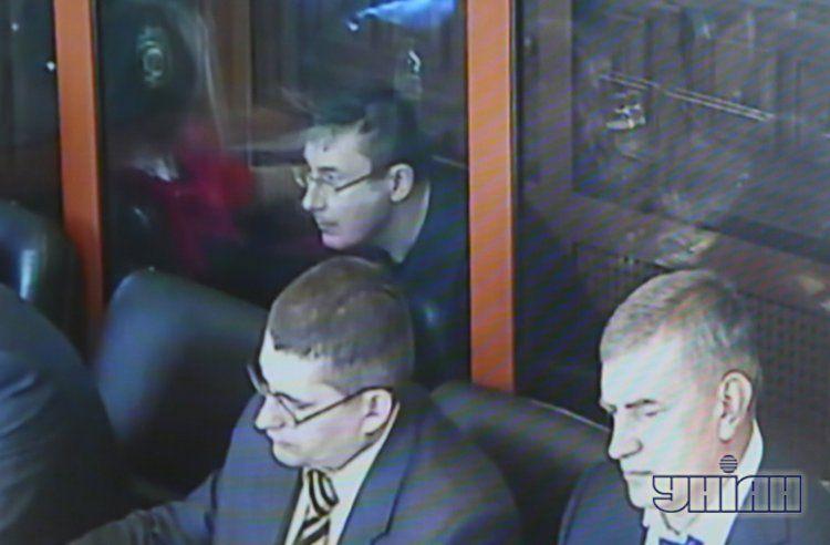 Юрий Луценко в суде