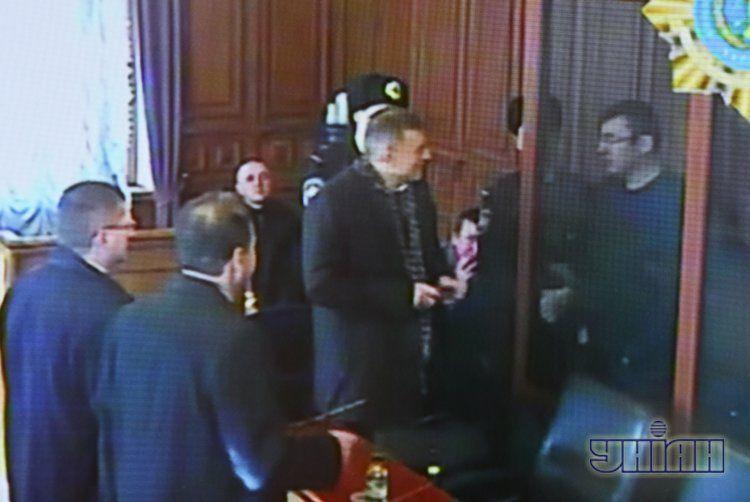 Фото из зала суда
