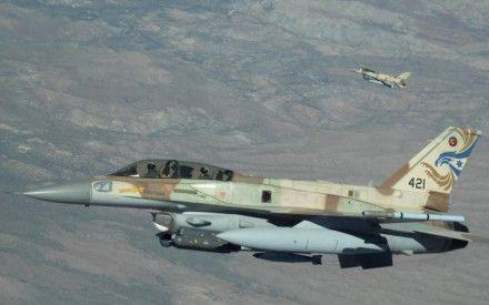 Самолет израильских ВВС, иллюстрация