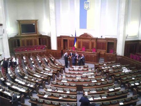 16 апреля Рада обсудит выборы в Киеве