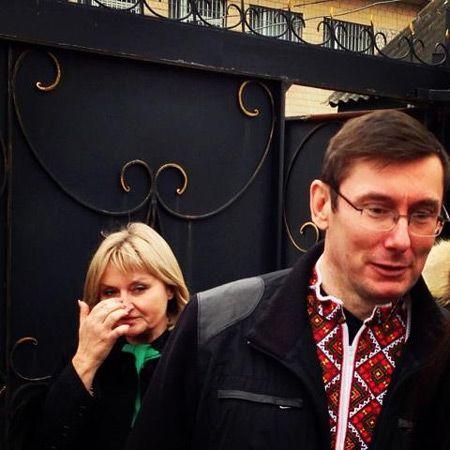 Юрий Луценко на свободе