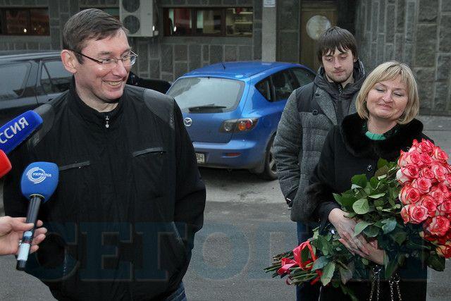 Луценко в Киеве мечтает о