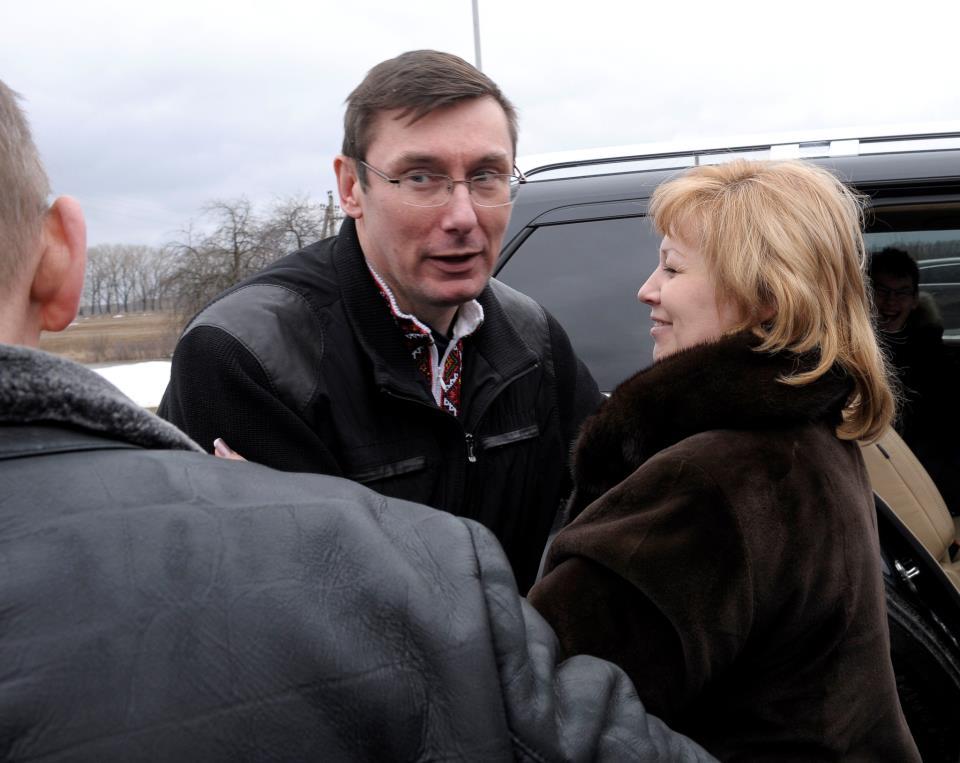 Освобожденный Юрий Луценко