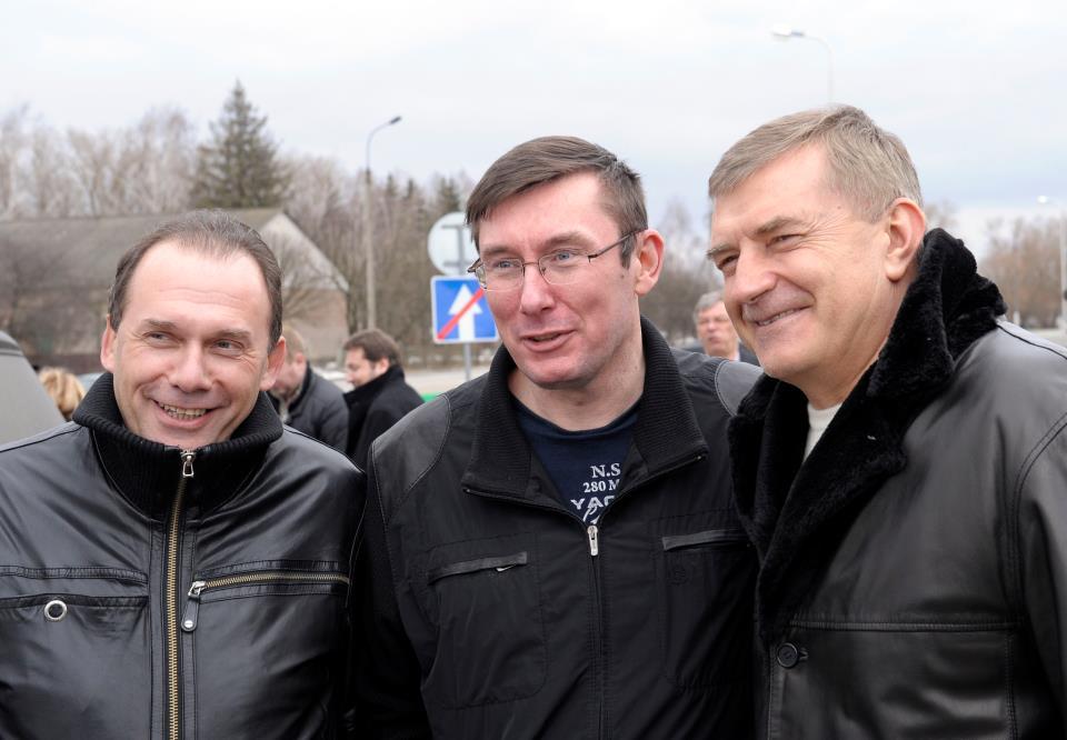 Друзья поздравляют Луценко с освобождением