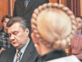 Янукович заявил, что Тимошенко сейчас помиловать не может