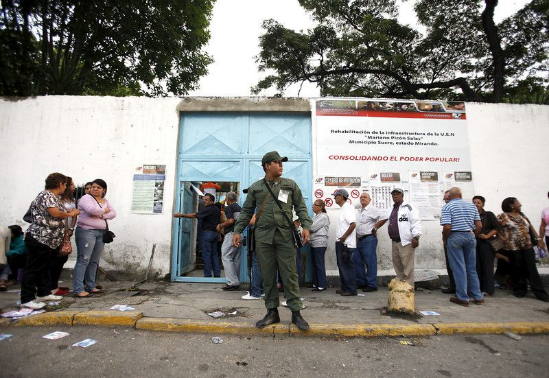 Сегодня Венесуэла выберет президента
