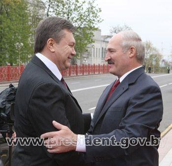 Встреча Лукашенко и Януковича в 2010 году