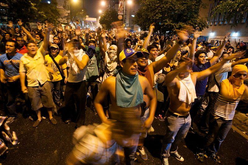 Митинг оппозиции закончился стычками с полицией