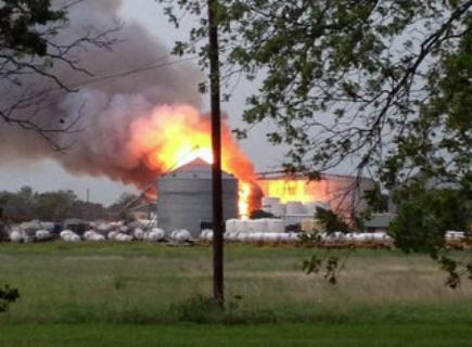 Фото с места происшествия.