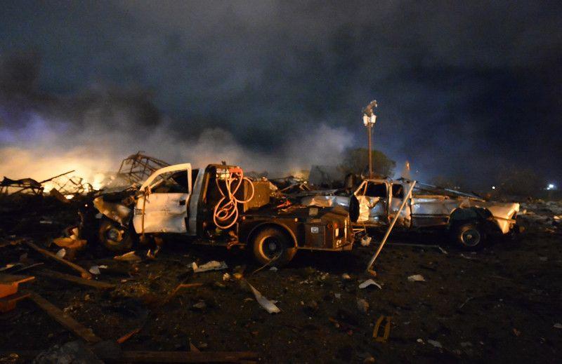 Фото катастрофы в Техасе