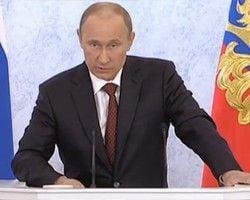 Путин: Европа шантажирует Украину