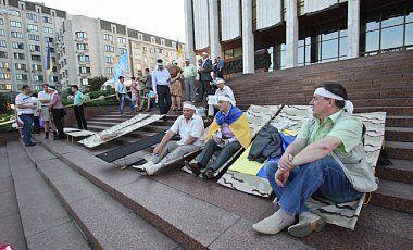 Мирная акция по защите украинского языка