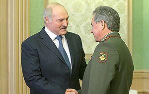 Лукашенко и Шойгу