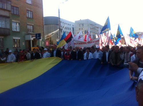 Чорновил раскритиковал украинскую оппозицию