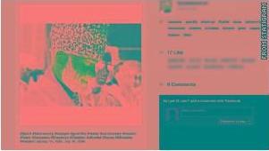 Страничка Царнаева в Instagram