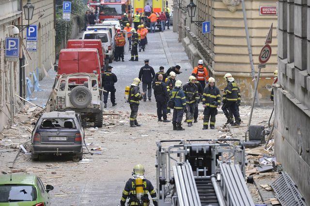 При взрыве пострадали 40 человек