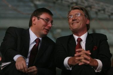Юрий Луценко и Виктор Ющенко