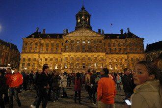Голландцы в предвкушении коронации