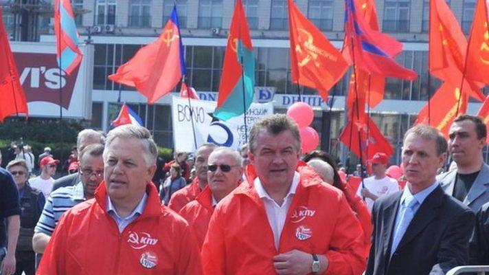 Колоннну КПУ возглавил Петр Симоненко