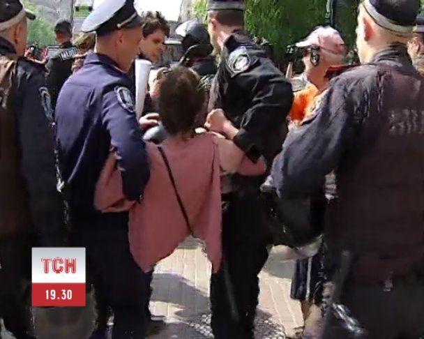 """""""Беркут"""" задержал активистов КУПРа"""