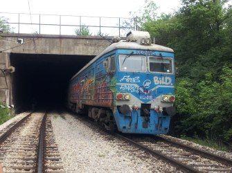 Столкновение поездов в Белграде