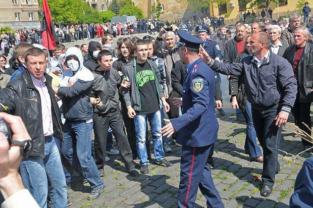 Так во Львове дрались в 2011 году