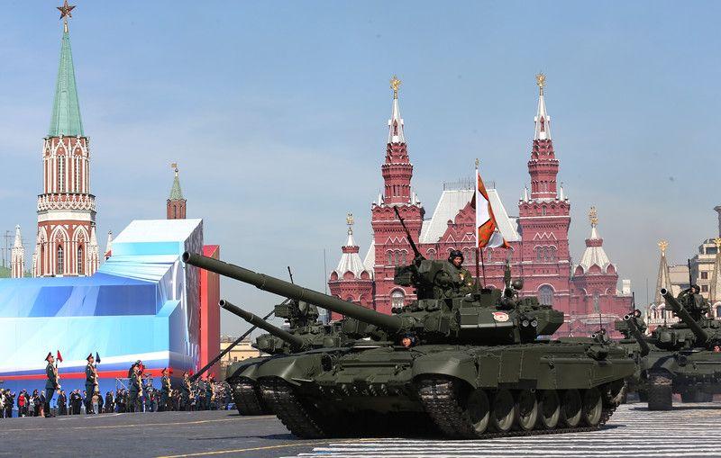 Парад в Москве, иллюстрация