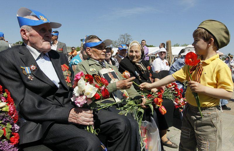 Так День Победы праздновали в Киеве