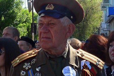 Ветеран НКВД на праздновании 9 мая