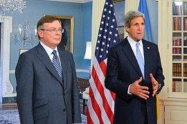 Встреча Леонида Кожары и Джона Керри
