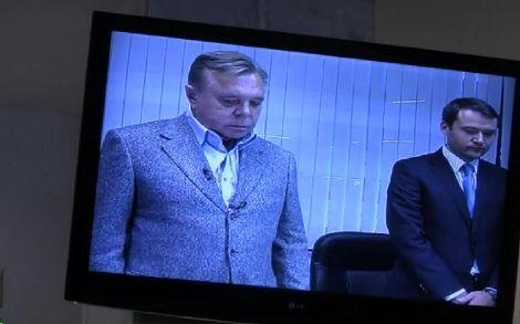 Петр Кириченко во время допроса