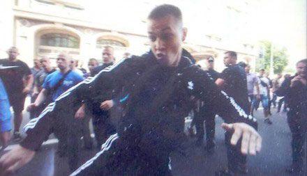 Вадик Румын, избивший журналистов