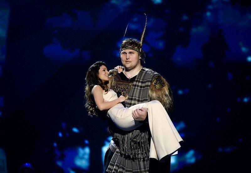 Злата Огневич в финале Евровидения-2013