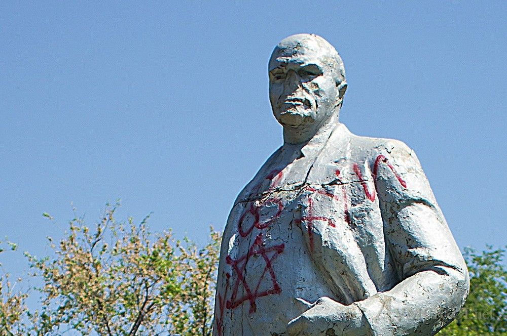 Памятник Ленину, иллюстрация