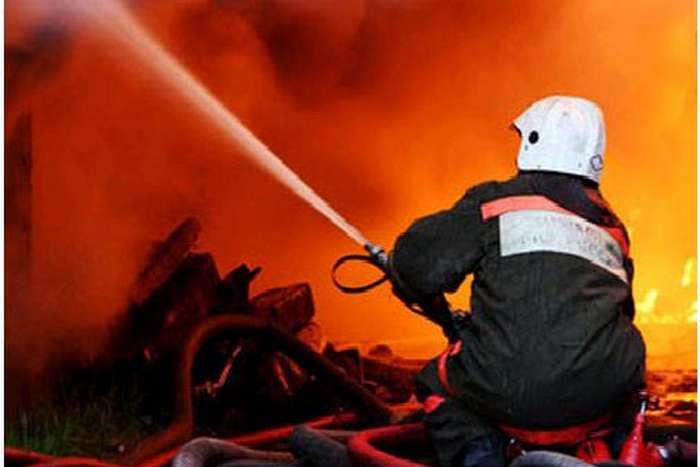 В Киеве в результате пожара в хосписе погиб человек