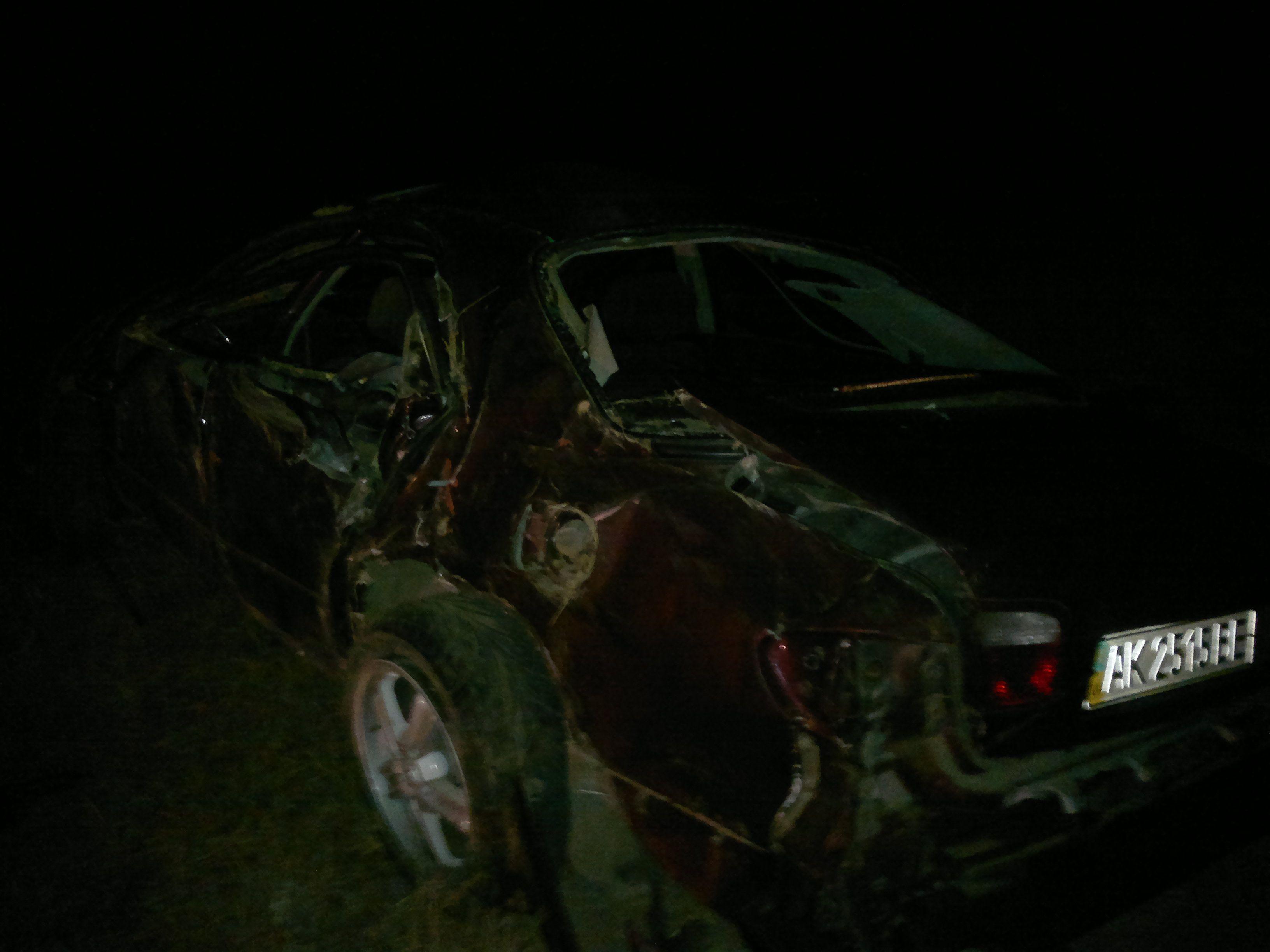 В Mazda Xedos пострадали 3 человека