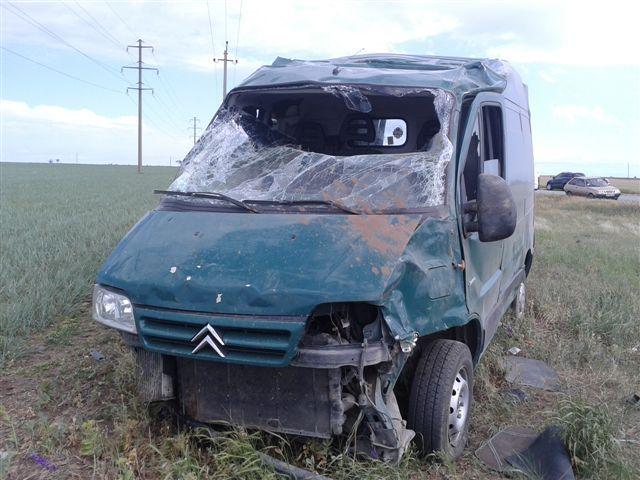 В Citroen Jumper пострадали два человека