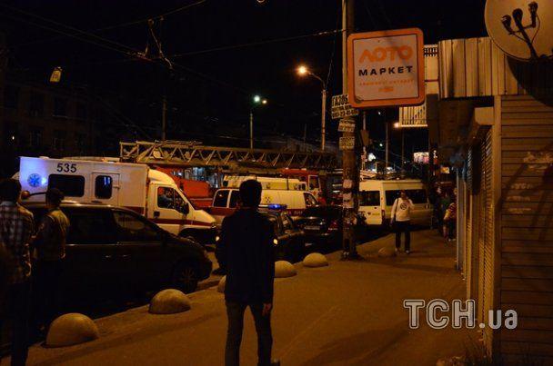 В Киеве в высотке выгорело 18 этажей: опубликованы фото и видео