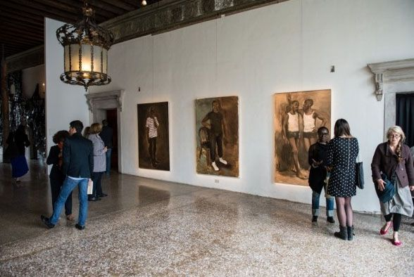 Открытие выставки Future Generation Art Prize@Venice 2013