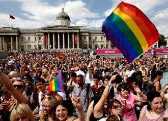 Украину обвинили в гомофобии