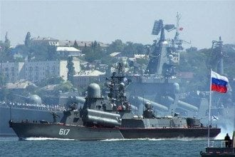 В Севастополе остались только корабли ЧФ РФ